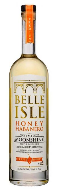 Belle Isle Honey Habanero Moonshine 750ml