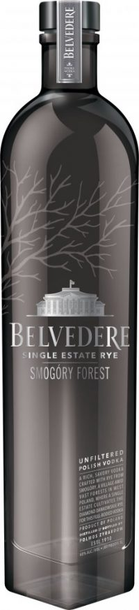 Belvedere Single Estate Rye Smogory Forest Vodka 750ml