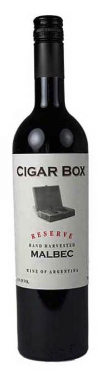 Cigar Box Malbec 750ml