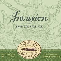 Cigar City Invasion 12oz 12pk cn