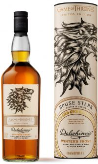 Dalwhinnie Game of Thrones House Stark Winters Frost 750ml