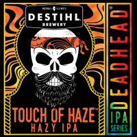 Destihl Deadhead Touch of Haze Hazy IPA