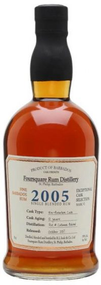 Foursquare Rum 2005 Single Barrel