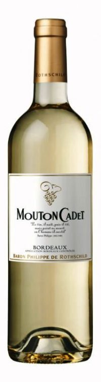 Mouton Cadet White Bordeaux 750ml