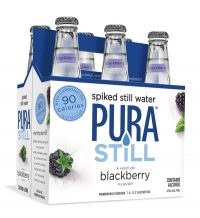 Pura Still Blackberry Spiked Water 12oz 6pk btl