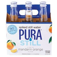 Pura Still Mandarin Orange Spiked Water 12oz 6pk btl
