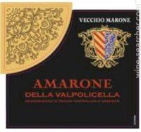 Vecchio Marone Amarone Della Valpolicella 750ml