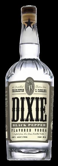 Dixie Black Pepper Vodka 750ml