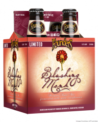 Founders Blushing Monk 12oz 4pk btls