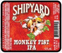 Shipyard Monkey Fist IPA 6pk Btls