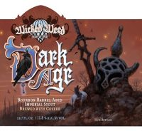 Wicked Weed BA Dark Age Coffee Stout 12.7oz btl sng