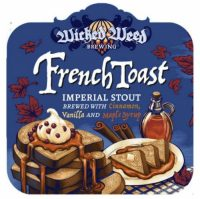 Wicked Weed BA French Toast Imperial Stout 12.7oz btls sng
