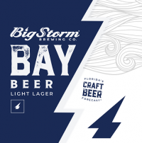 Big Storm Bay Beer Light Lager 12oz 4pk cn
