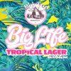 Big Top Big Life Tropical Lager 16oz 4pk cn