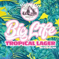 Big Top Big Life Tropical Lager 16oz 4pk cn