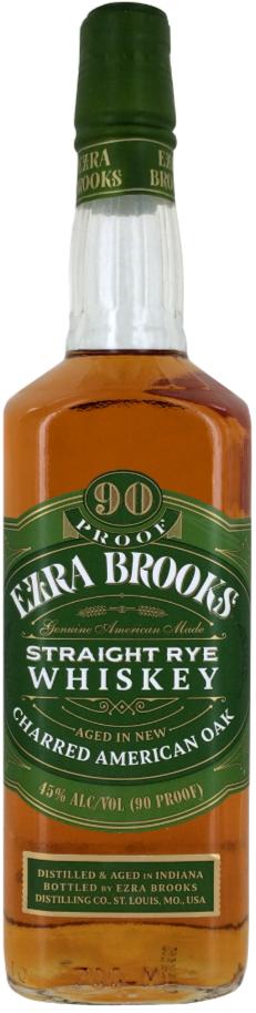 Ezra Brooks Straight Rye 750ml
