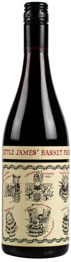 Little James Basket Press Red 750ml