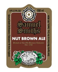 Samuel Smith Nut Brown Ale 4pk 14.9oz cn