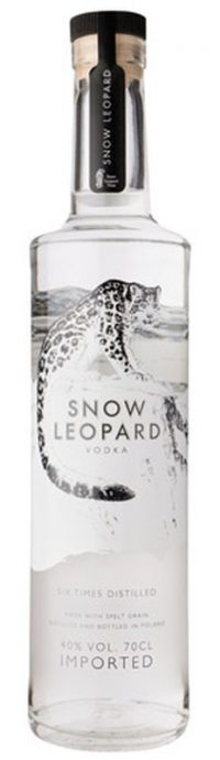 Snow Leopard Vodka 750ml