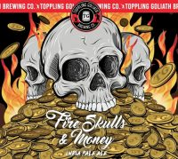 Toppling goliath Fire Skulls & Money 16oz 4pk Cn