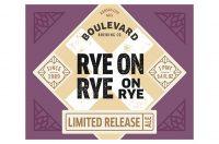 Boulevard Rye on Rye 12oz 4pk Btl