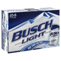 Busch Light 12oz 24pk Cn