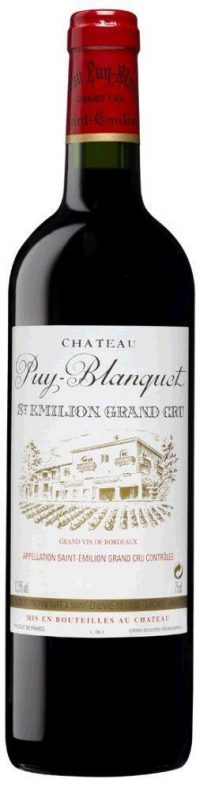 Chateau Puy Blanquet St Emillion 2015 750ml