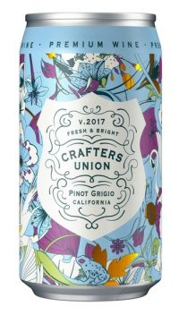 Crafters Union Pinot Grigio 12oz Can