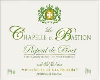 La Chapelle Du Bastion Picpoul De Pinet 750ml