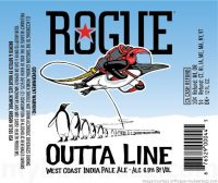 Rogue Outta Line West Coast IPA 12oz 6pk Cn