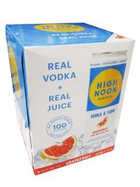 High Noon Vodka & Soda Grapefruit 4pk