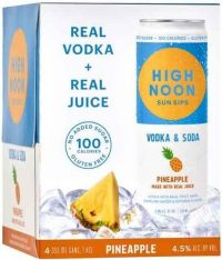 High Noon Vodka & Soda Pineapple