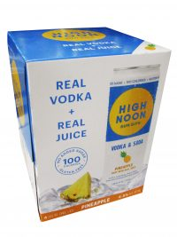 High Noon Vodka & Soda Pineapple 4pk