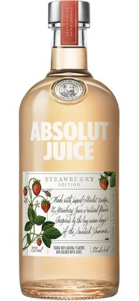 Absolut Juice Edition Strawberry 750ml