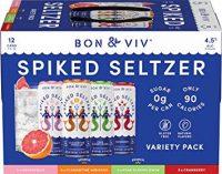 Bon & Viv Spiked Seltzer Variety 12oz 12pk Cn