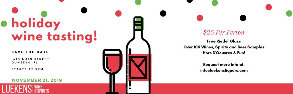 Holiday Wine Tasting 2019
