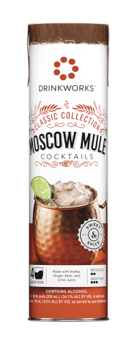 Drinkworks Moscow Mule Cocktails 4pk Pods