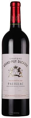 Chateau Grand Puy Ducasse Pauillac
