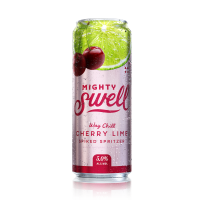 Mighty Swell Seltzer Cherry Lime 12oz 6pk Cn