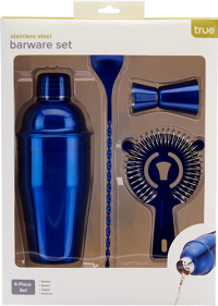 True Blue Barware Set