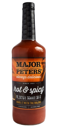 Major Peters Hot & Spicy Bloody Mary Mix