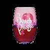 Beach Please Stemless Wine Glass by Blush