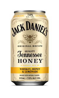 Jack Daniels Whiskey Honey & Lemonade