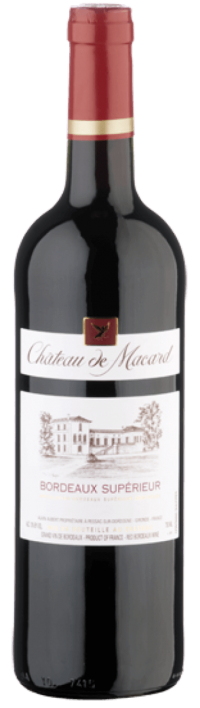 Chateau De Macard Bordeaux Superieur 750ml