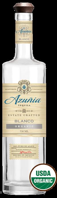 Azunia Organic Blanco Tequila