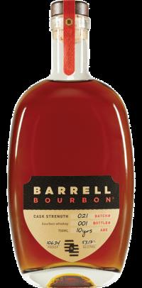Barrell Bourbon Cask Strength 10yr Batch #21
