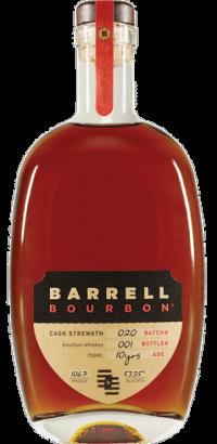Barrell Bourbon Cask Strength 10yr Batch #20