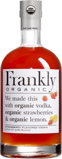 Frankly Organic Strawberry Vodka