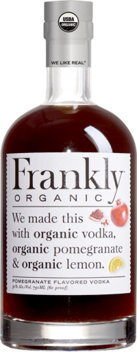 Frankly Organic Pomegranate Vodka