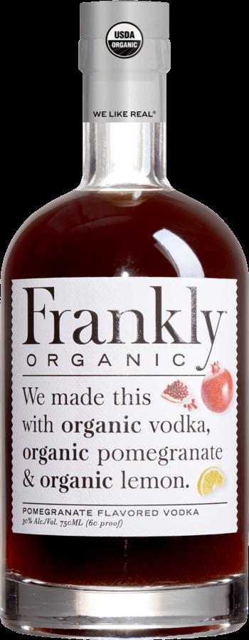 Frankly Organic Pomegranate Vodka